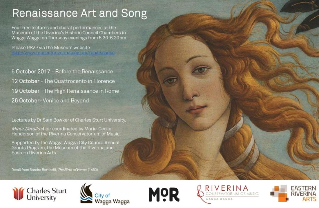 Renaissance Art and Song